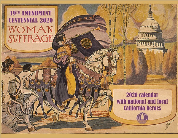 NOW Sonoma County 2020 Women's Suffrage Centennial Calendar