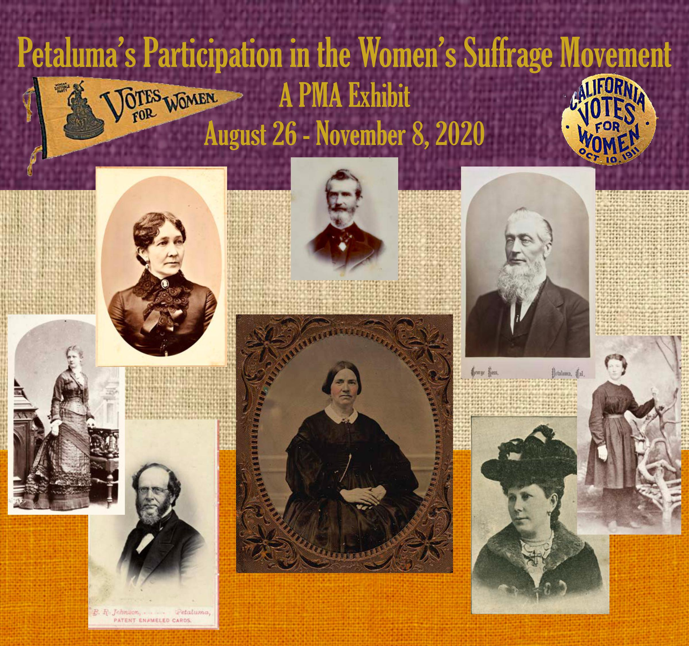 Petaluma's Participation in the Women's Suffrage Movement, Petaluma Library and Historical Museum